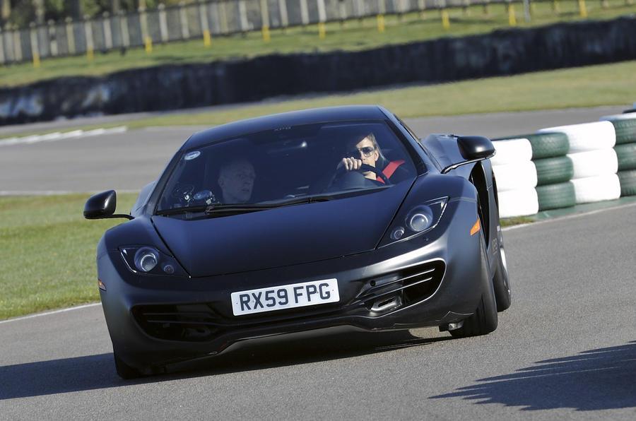Goodwood: McLaren MP4 launch