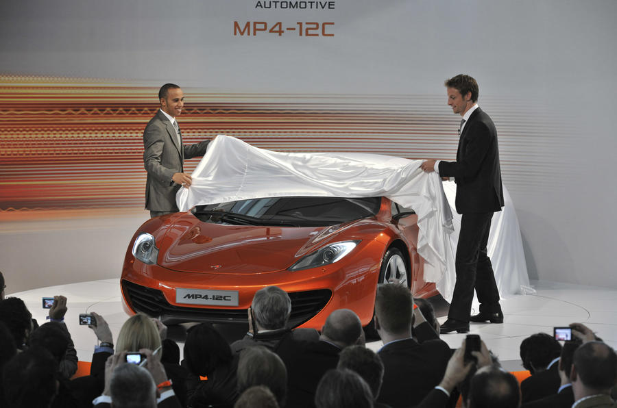 Supercar 'split Merc and McLaren'