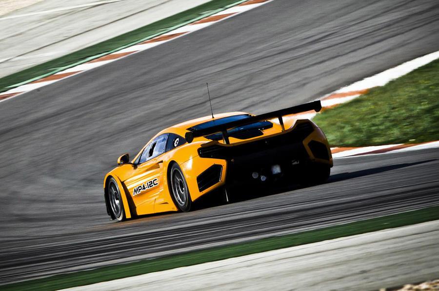 McLaren MP4 racer - new pics
