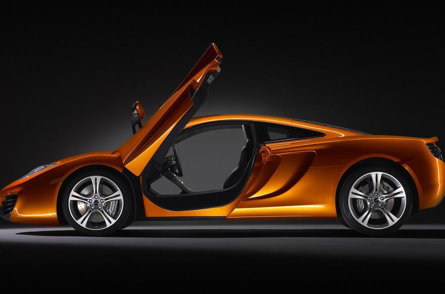 McLaren MP4 from £168,500