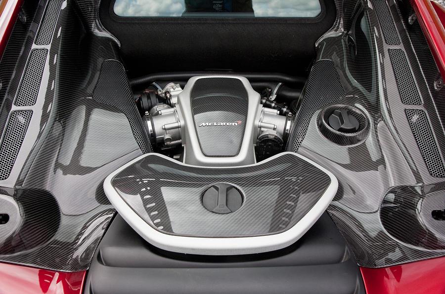 McLaren 12C 3.8-litre V8 engine