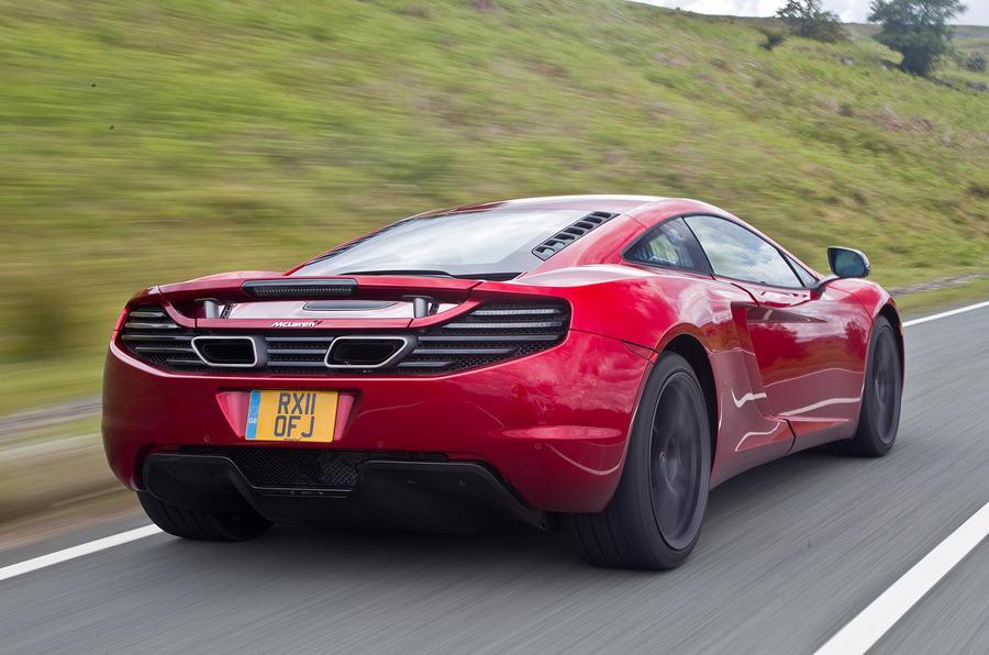 ... McLaren 12C Rear Quarter ...