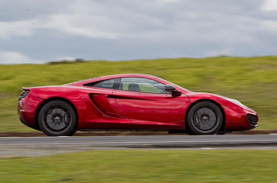 McLaren 12C side profile