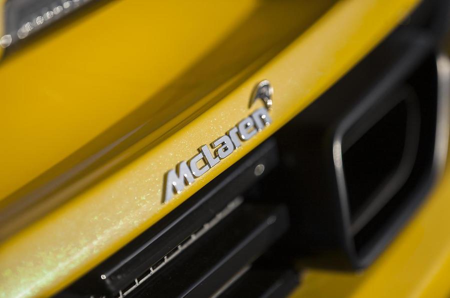 McLaren rear badging