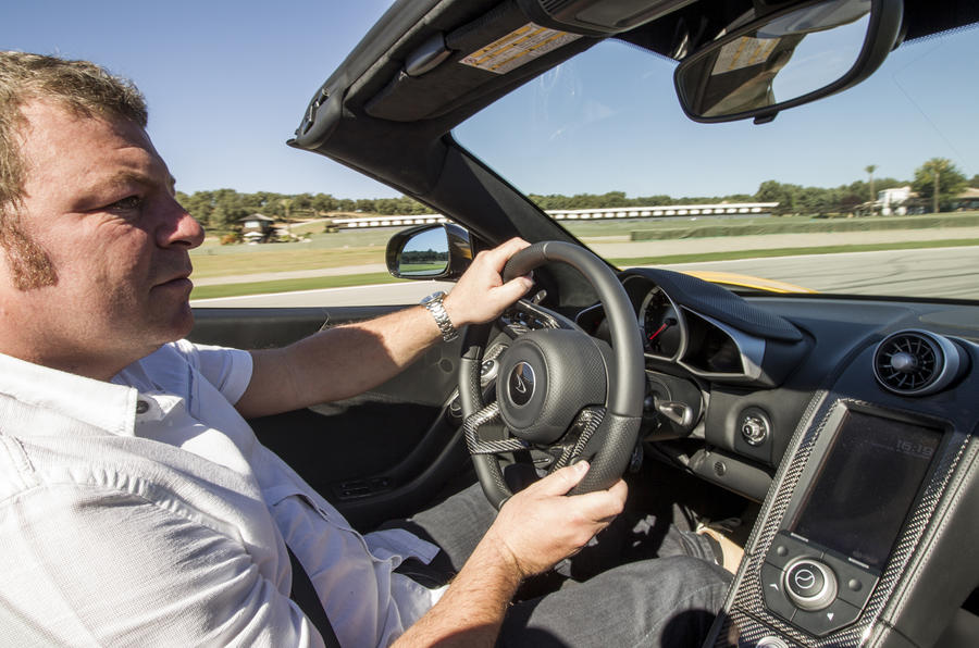Driving the McLaren MP4-12C