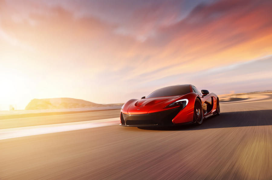 New pictures of McLaren P1 revealed during Middle East tour