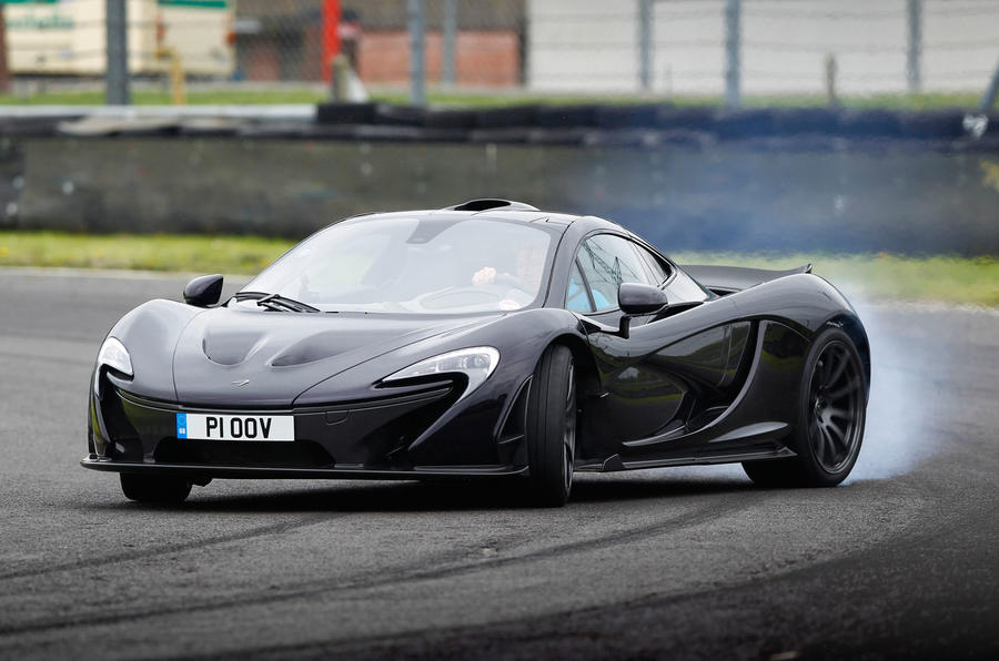 Putting the new McLaren P1 through its paces