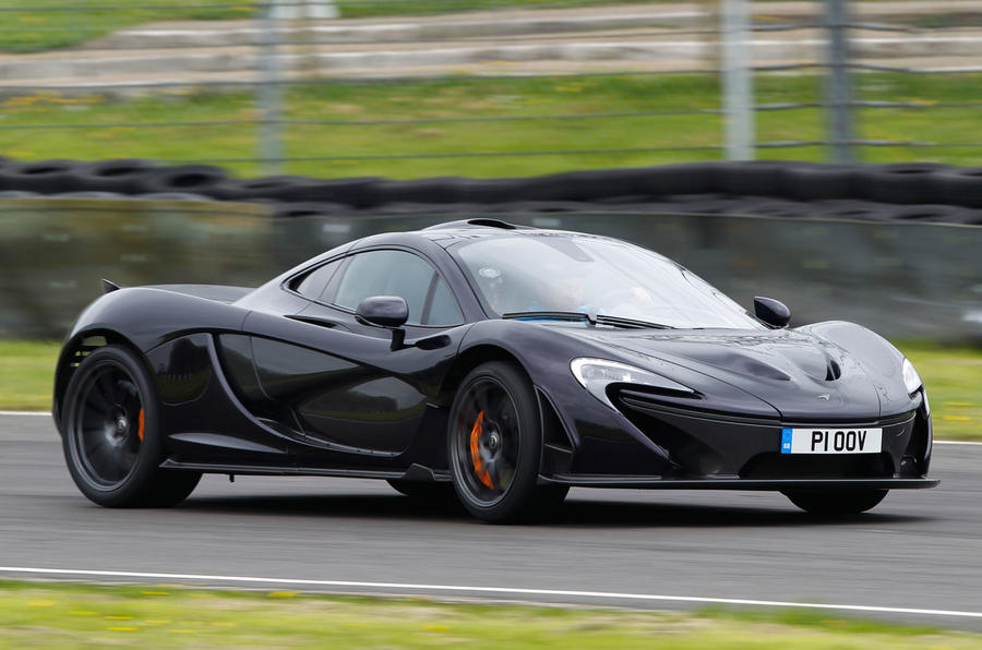 Combined McLaren P1 output of 903bhp