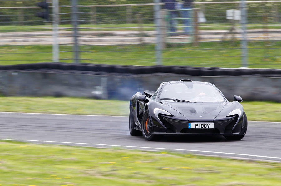 McLaren P1 drifting