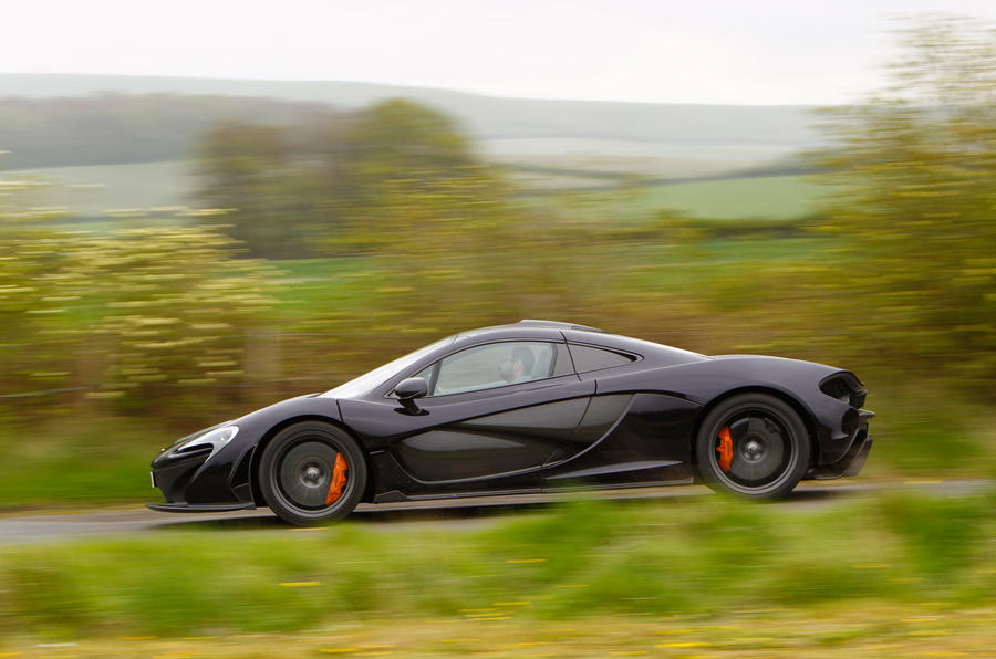 McLaren P1 side profile