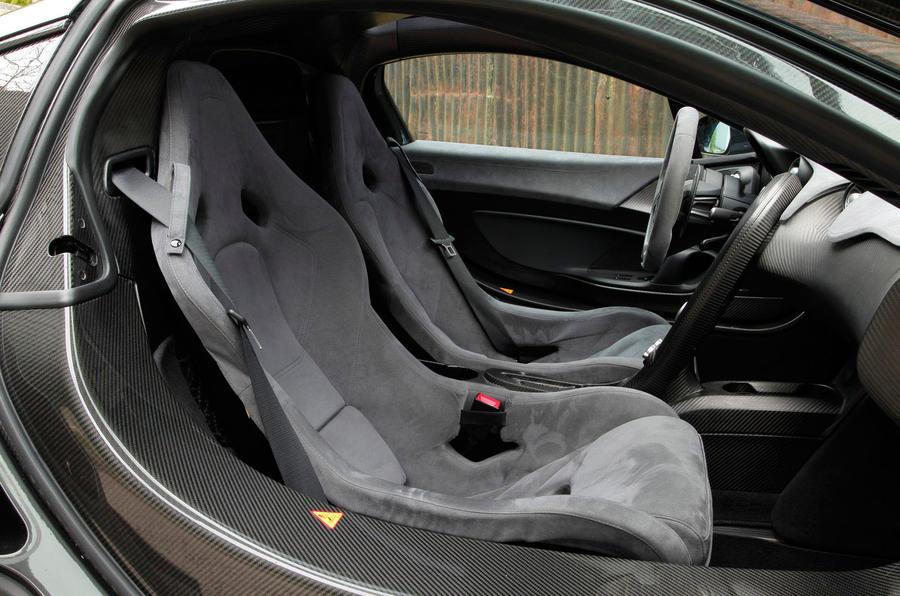 McLaren P1 sport seats