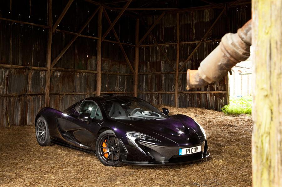 5 star McLaren P1