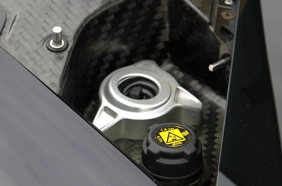 McLaren P1 access panel