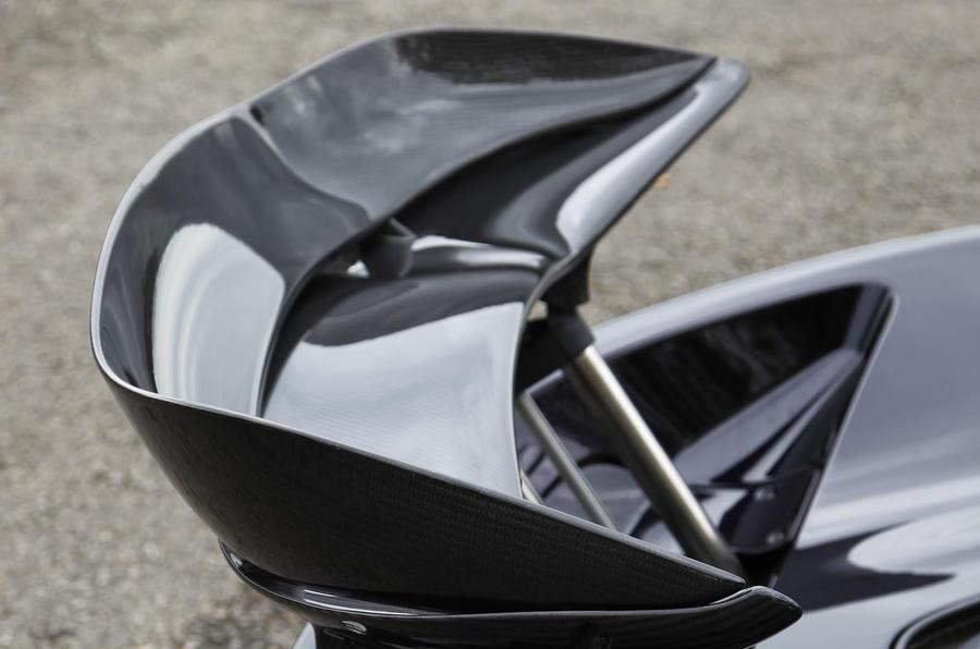 McLaren P1 rear wing