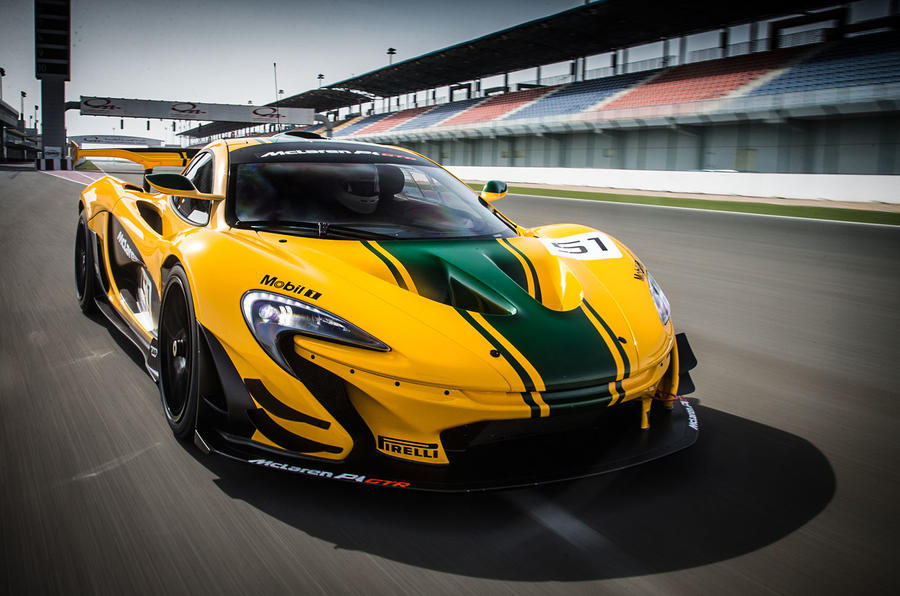 McLaren P1 GTR ...