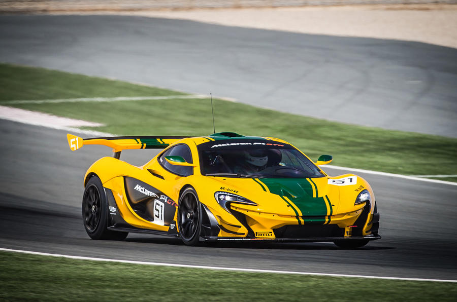 Racing the McLaren P1 GTR