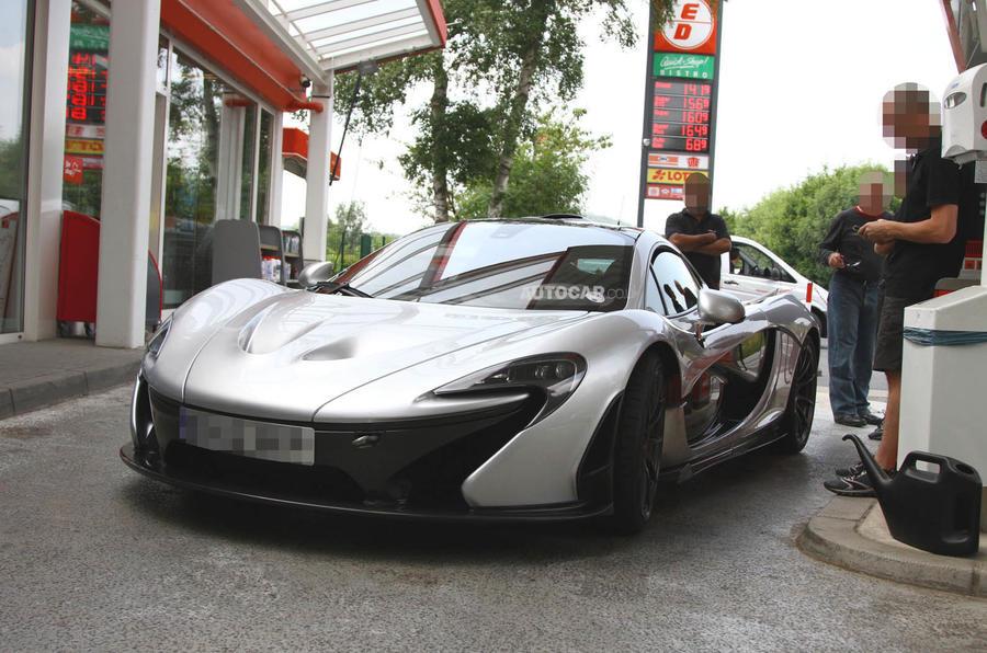 McLaren P1 XP2R prototype
