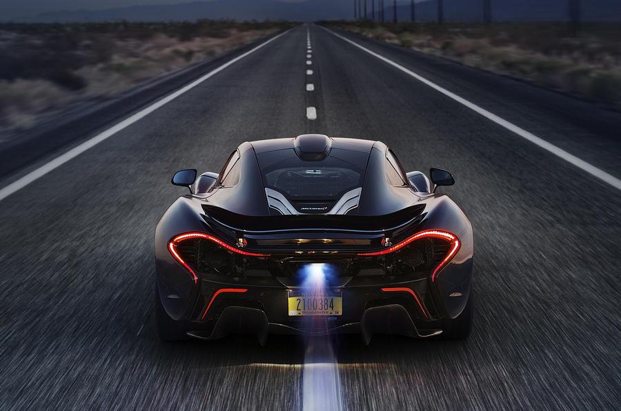 McLaren P1 exclusive track ride
