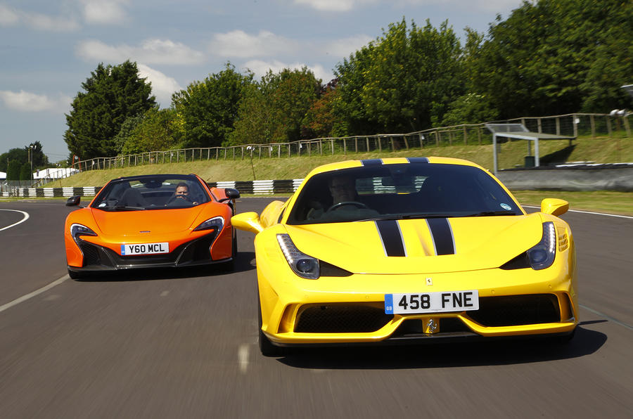 Ferrari Speciale versus McLaren 650S: what really happened