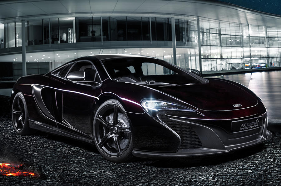 Bespoke options for new McLaren 650S showcased