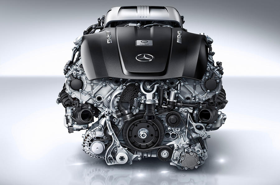 Official - Mercedes-AMG GT to get new 503bhp twin-turbo engine