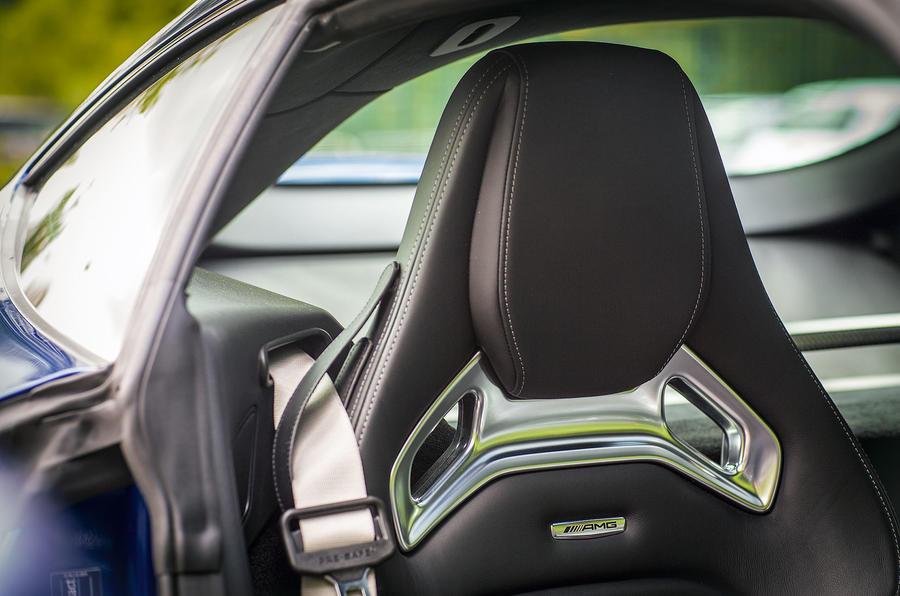 Mercedes-AMG GT sport seats
