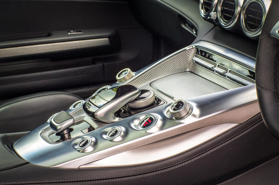 Mercedes-AMG GT centre console switchgear