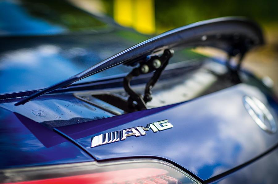 Mercedes-AMG GT rear wing