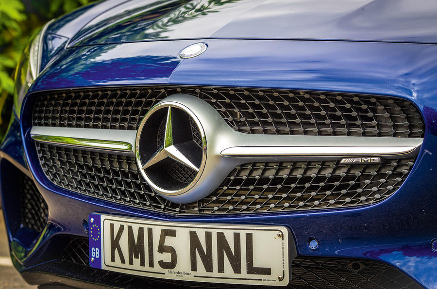 Mercedes-AMG GT front grille