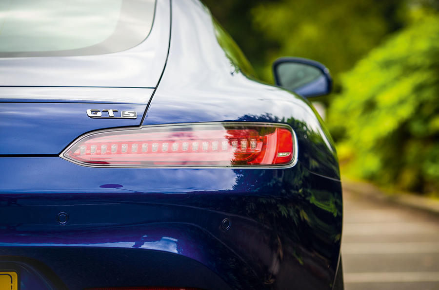 Mercedes-AMG GT wide tailights