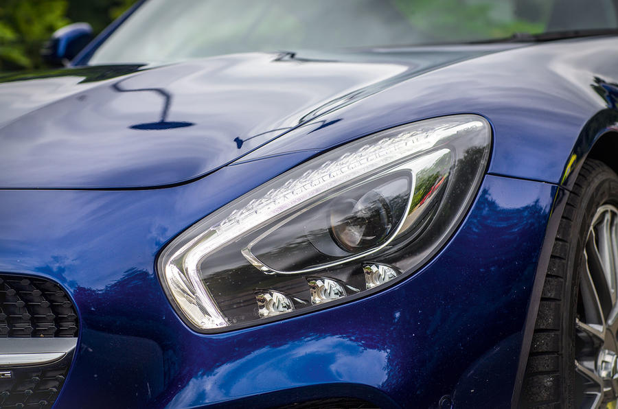 Mercedes-AMG GT performance LED headlights