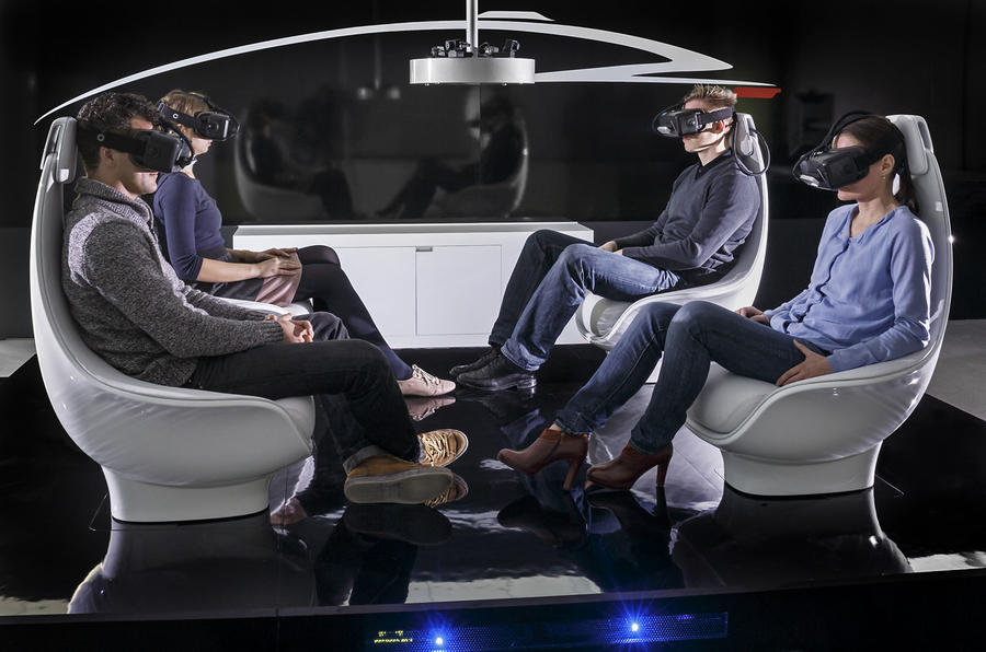 Mercedes-Benz previews interior of autonomous concept car