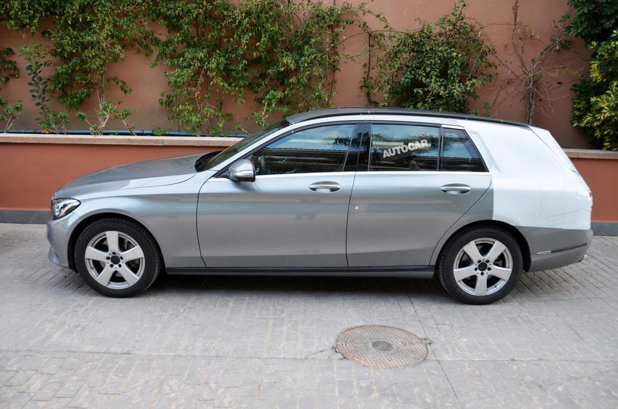 Mercedes-Benz C-class estate enters final testing ahead of summer reveal