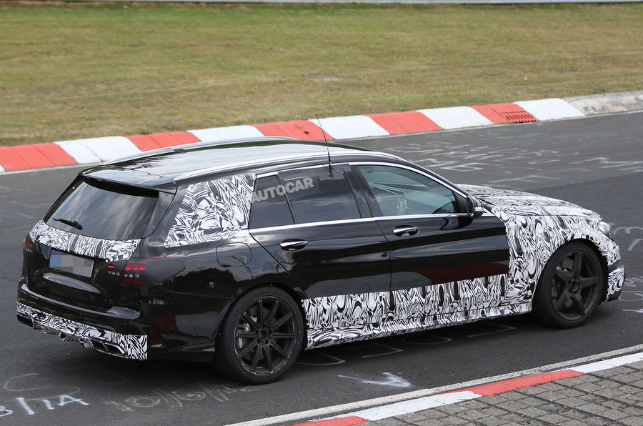 Mercedes ramps up C63 AMG estate development ahead of Paris reveal