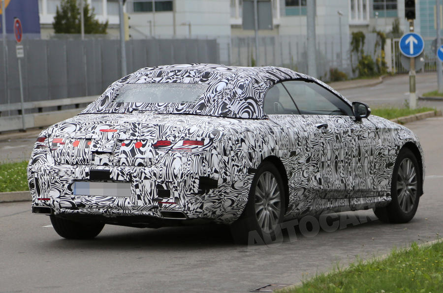 Mercedes S-class cabriolet in development