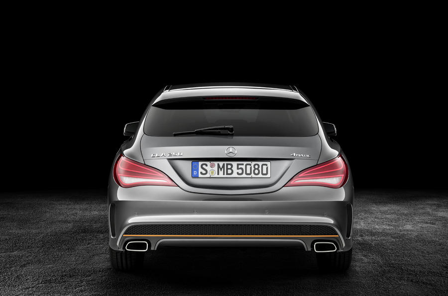 Mercedes-Benz CLA Shooting Brake revealed