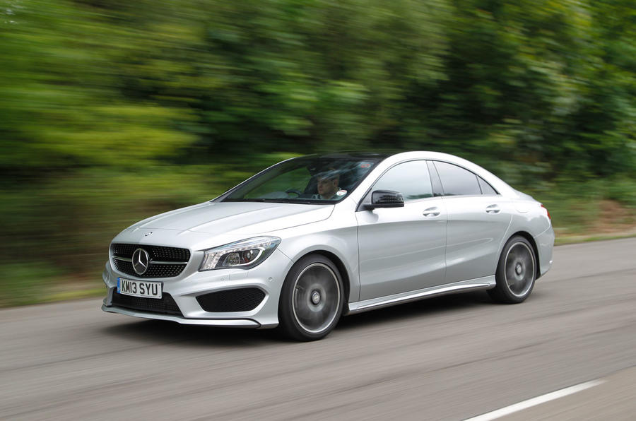 120bhp Mercedes-Benz CLA