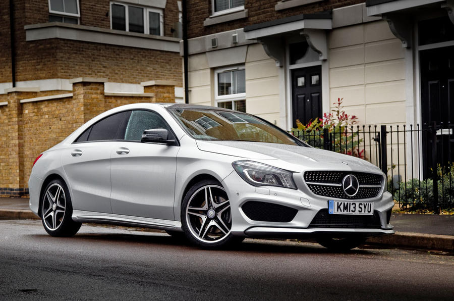 3 star Mercedes-Benz CLA
