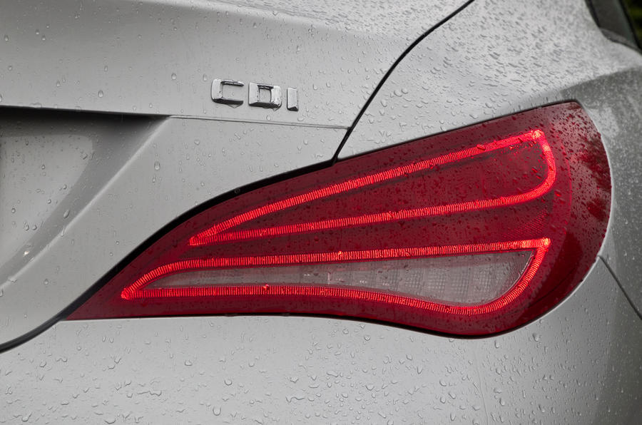 Mercedes-Benz CLA rear light