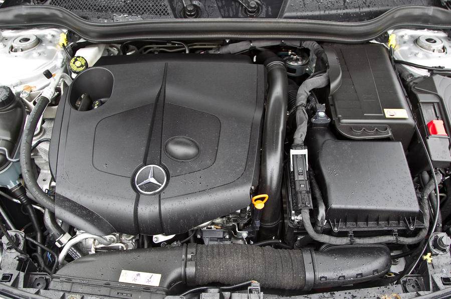 Mercedes-Benz CLA 220 CDI engine
