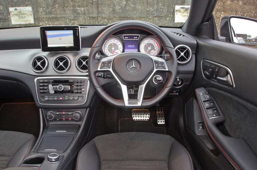 Mercedes-Benz CLA dashboard