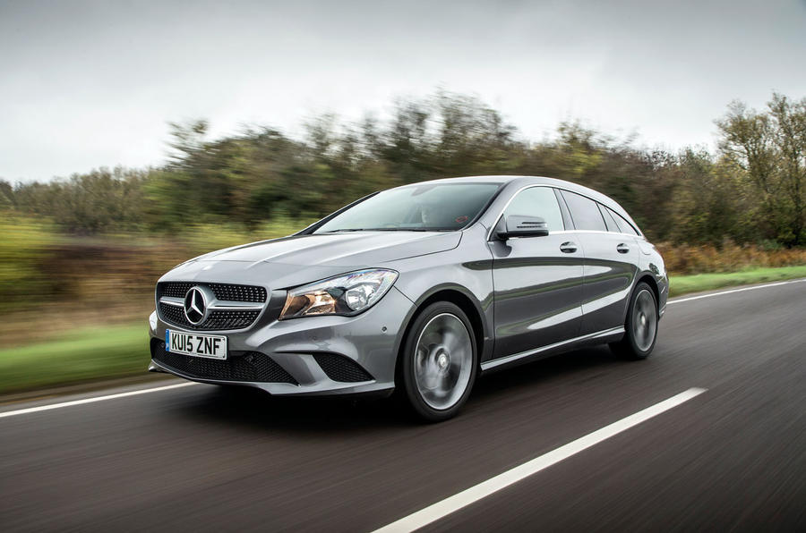 Mercedes Cla Shooting Brake Review 2017 Autocar