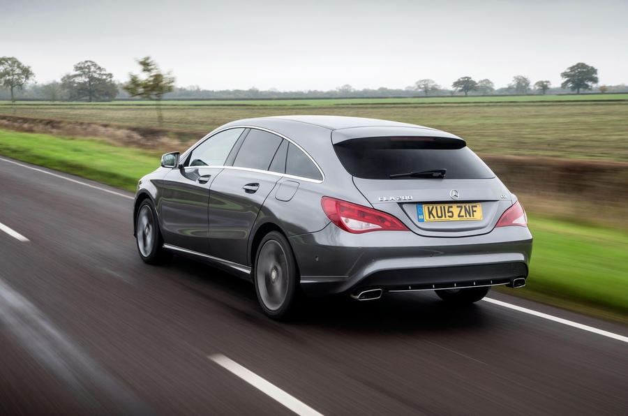 The CLA Shooting Brake shares the same A-Class platform