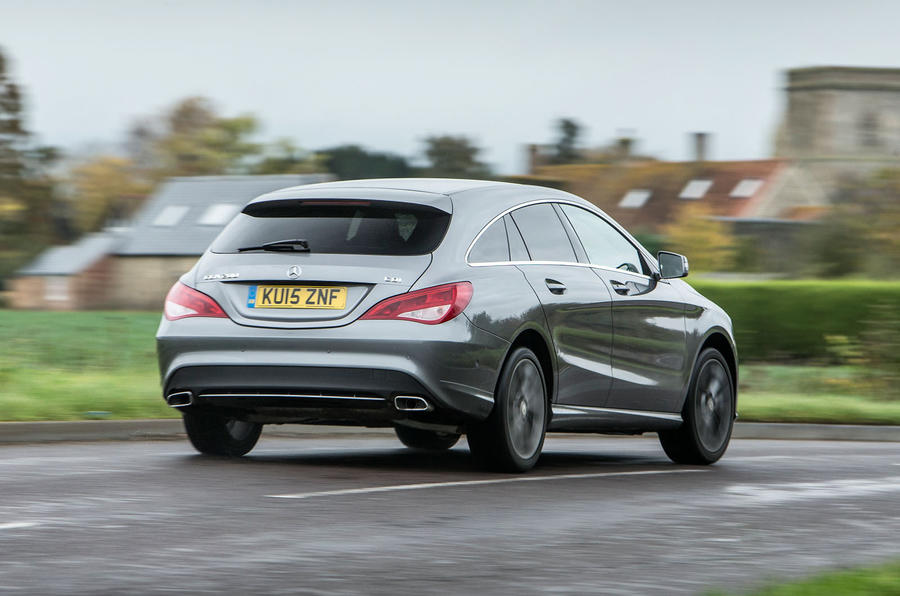 The CLA Shooting brake finds balanced dynamic compromise in its baseline comfort settings