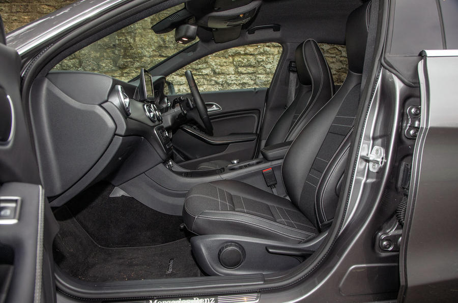 A look inside the Mercedes-Benz CLA Shooting Brake