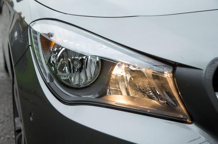 The AMG trim CLA Shooting Brake gets the upmarket bi-xenons