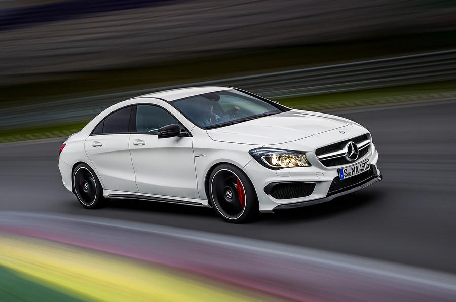 New York motor show: Mercedes-Benz CLA45 AMG 4Matic