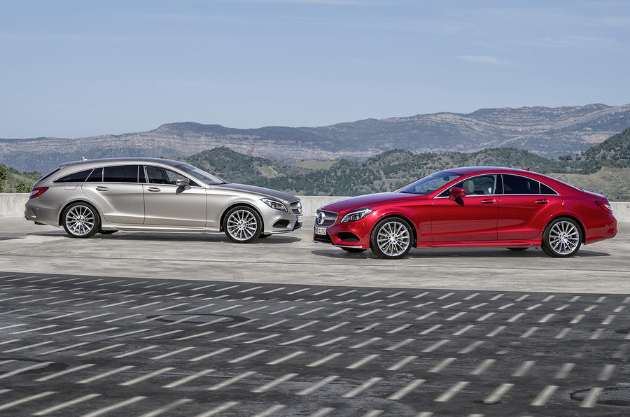 Facelifted mercedes benz cls and cls shooting brake for Mercedes benz collision prevention assist plus