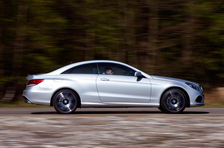 Mercedes-Benz E-class E400 AMG Sport Plus coupe first drive