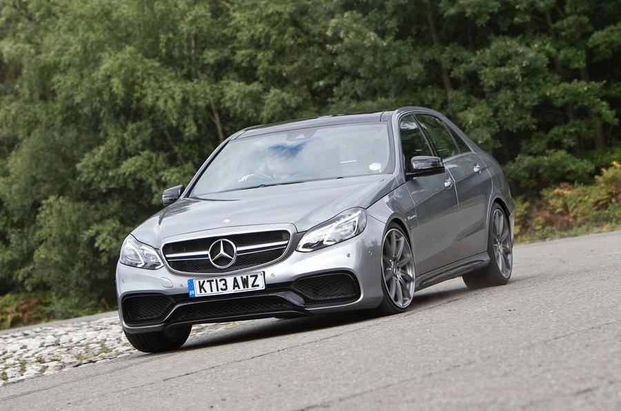Mercedes-AMG E 63 cornering